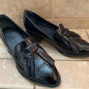 100% patent leather Rebecca Minkoff loafers 5/5.5